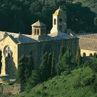 Abbaye de Fontfroide - Narbonne - concert grégorien de Pâques