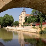 canal-du-midi-et-de-la-robine-narbonne-pont-bateau