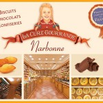 Cure gourmande-narbonne affiche biscuits chocolat