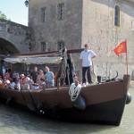 La capitane narbonne bateau navigation passagers