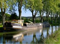 visiter Narbonne le Canal du Midi et de la Robine