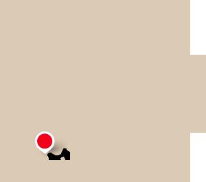localisation de Narbonne sur une carte d'Europe