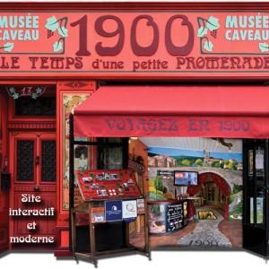 Musee caveau le 1900 narbonne facade